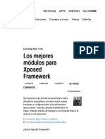 Xposed Los Mejores Módulos Para Xposed Framework - AndroidPIT