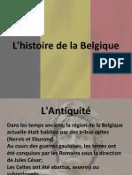 Historie de la belgique