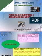 Monitoreo y Conservacion de Muestras