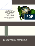Desarrollo Sostenible y Gestion Ambiental