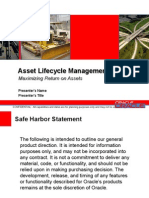 Asset Lifecycle Mgmt v6.2