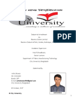 Industrial Report on Beximco Denim Ltd. by Ashis Biswas , City University of Bangladesh.