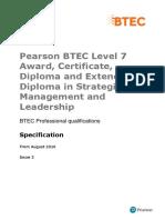 BTEC Prof L7 StratManLd Iss2