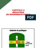 Cap 4 Registros de Microresistividad