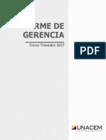 Informe de Gerencia - 3T17