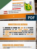 Ppt Ministerio de Defensa
