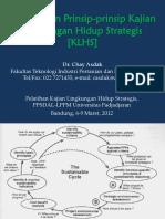 3. Chay Asdak, Konsep&Prinsip KLHS