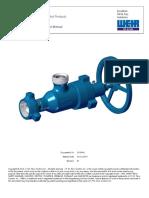 SPM Choke Valves Operation Instruction and Service Manual