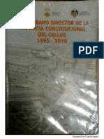 Plan Urbano Director de La Provincia Constitucional Del Callao 1995-2010