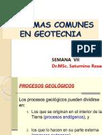 SEMANA VII Problemas Geotecnicos