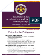 Tax Policy Revised Package 1 HB4774 Briefing as of Feb3
