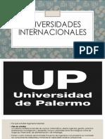 UNIVERSIDADES INTERNACIONALES