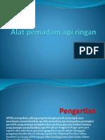 Alat Pemadam API Ringan KEL 2 X OC