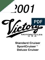 2001 Vinctory Cruiser Deluxe Manual