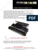 Reman Xerox Phaser 4510c Adapt OPC