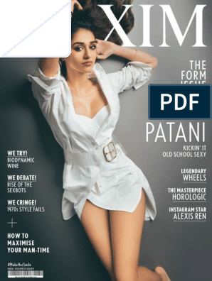 Disha Patani: THE Form Issue