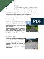 1) Costo Del Kilometro de Carretera