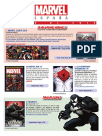 Catalogo ENERO 2018 Marvel