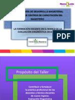Presentación Taller Diagnóstica