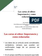 17a Las Cartas Al Editor