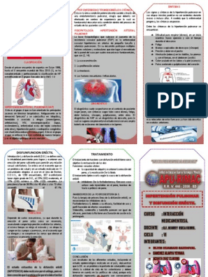 Hipertensión triptico arterial pulmonar