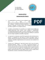 Admnistracion Publica