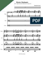 Mestre Radames - Hermeto (Score) 1985