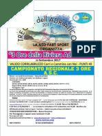 tre ore riviera adriatica 2017
