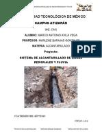 Calculo Del Colector de Aguas Negas