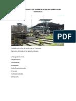 Informe Del Proceso de Extraccion de Aceite de Palma Africana en Teobroma