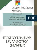 Teori Perkembangan Sosiobudaya Vygotsky PDF