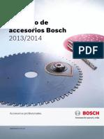 Catalogo de Accesorios Bosch 2013 2014