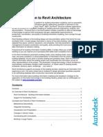 Revit Architecture Introduction