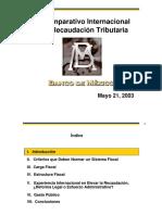 ComparativoInternacionalRecaudaciónTributaria