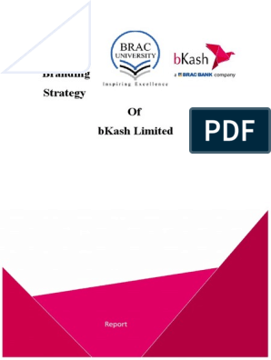 Branding Strategy Of Bkash Limited