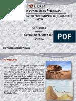 Geología  acciones geológicas del viento