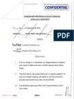 Loro Parque Killer Whale Facility Service & Loan Agreement - Formerly Confidential