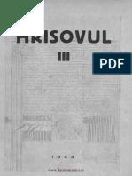 Hrisovul Nr3 1943 SacerdoteanuAurelian