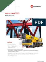 Grove Gmk5225 Cranes Material Handlers(2)