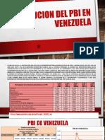 Evolucion Del Pbi de Venezuela(Ultimo)(Expo)(Ultimoooooooo)