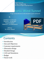 Subsonic Wind Tunnel Presentation1