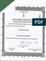 Diploma Verso