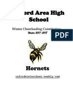 17-18 cheerleading constitution