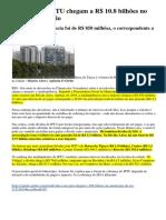 Dívidas com IPTU chegam a R$ 10.8 bilhões no município do Rio