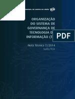 TCU. Sist de Governança de TI. NT 7-2014 - 2689715.pdf