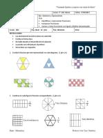 Eval Fracciones 1 5° Basico