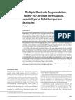 A Multiple Blasthole Fragmentation Model_Its Concept Formulation Capability