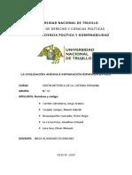 La Civilización Andina e Inmigración Española