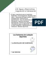 ClaseTema9-TermoregulacionHidratacionNutriciónDeportiva2014