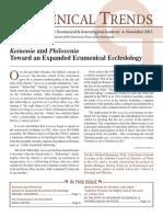 Ecumenical Trends November 2015